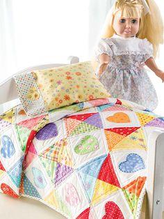 Quilting - Sleep Tight Doll Quilt & Pillowcase - #EQ00829