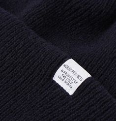 Norse Projects Ribbed Wool Beanie In Navy Norse Projects, Cosy, Beanie, Men, Guys, Beanies, Beret