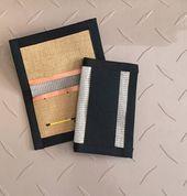 FIRE HOSE Bi-Fold Wallet - Firehose Minimalist Wallet - Men's Thin Wallet - ... Black Friday Fights, Best Black Friday, Fire Hose, Minimalist Wallet, Card Holder, Minimal Wallet