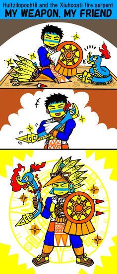 MANGA My weapon, my friend by nosuku-k on DeviantArt