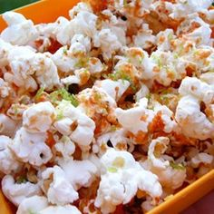 "Sriracha-Lime Popcorn | ""The lime zest is noticeable, and so good, I'd even add a bit more!"""