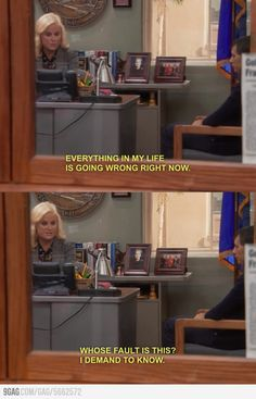I wish I was as cool as Leslie Knope.