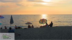 Sunset on Citara Beach, Forio d'Ischia