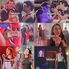 Finchel throughout the years.