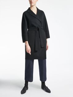 Max Mara ARONA black: Wool coat.