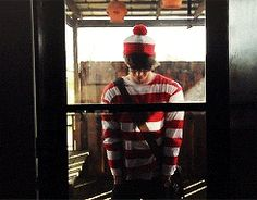Grant Gustin as Waldo in the short film Waldo and the Absolutely Amazing Afternoon