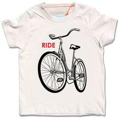 Kid's Organic Ride a Bike TShirt