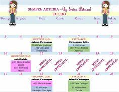 Agenda de julho 2016 parte1