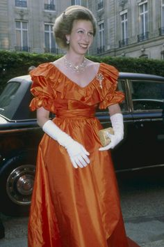 Paris, France, 07 06 Princesse Anne of England in Paris. Princess Anne, the daughter of Queen Elizabeth II, was born on 15 August (Photo by Francis Apesteguy/Getty Images) Princess Eugenie, Royal Princess, Windsor, Royal Uk, Elisabeth Ii, Royal Clothing, Royal Dresses, Princess Margaret, Royal Jewels