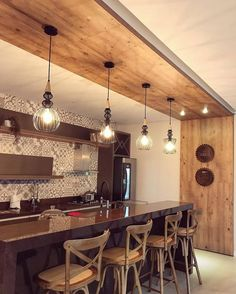 Trendy Diy Decorao On A Budget Living Room Small Apartments Kitchen Bar Design, Small Living Rooms, Kitchen Design Small, Rustic Decor, Kitchen Decor, Home Pub, Living Room On A Budget, House Interior, Home Interior Design