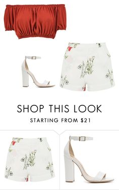 """""""Untitled #408"""" by itgirlcarlota ❤ liked on Polyvore featuring Topshop, Schutz and Boohoo"""