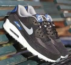 pretty nice 687be 45650 Air Max 90, Nike Air Max, Sneakers Nike, Sko Spel, Grå,