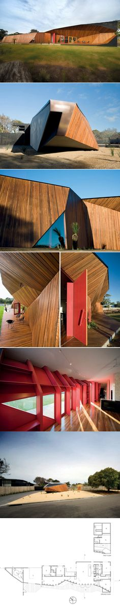McBride Charles Ryan Architect, Letterbox House. Blairgowrie, Australia.  2009   Architecture   Pinterest   Architects, Architecture And Facades