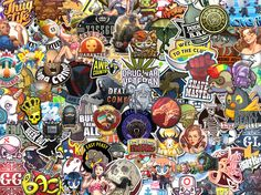 Sticker Bomb I made #games #globaloffensive #CSGO #counterstrike #hltv #CS #steam #Valve #djswat #CS16