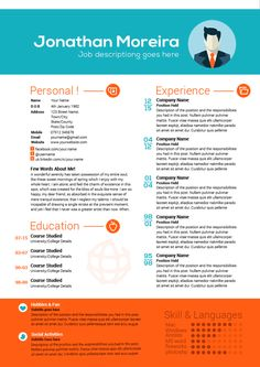 Check out this piece of creative, professional curriculum vitae template created in Photoshop, but easily editable and to work with.