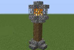 Medieval Nordic Lightpost - GrabCraft - Your number one source for MineCraft buildings, blueprints, tips, ideas, floorplans!