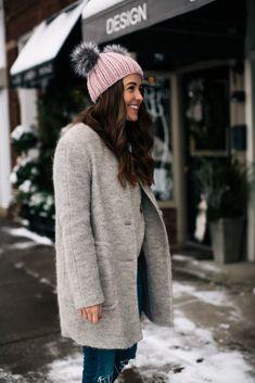 winter neutrals #grey #pink