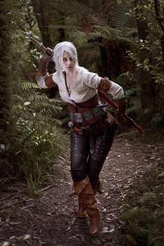 The Witcher 3 Ciri Cosplay costume (11) – Cosplays