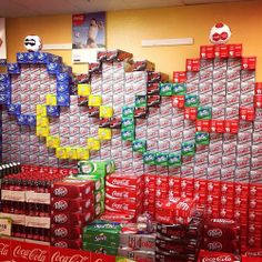 #Olympics #soda display.