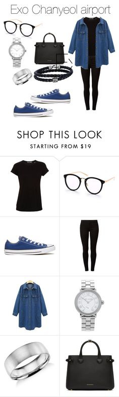 """exo chanyeol airapot"" by raxmatovau ❤ liked on Polyvore featuring Vince, Converse, Dorothy Perkins, Marc Jacobs, Blue Nile, Burberry and Phillip Gavriel"