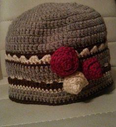 handmade crochet hat Crochet Hats, Beanie, Handmade, Fashion, Knitting Hats, Moda, Hand Made, Fashion Styles, Beanies
