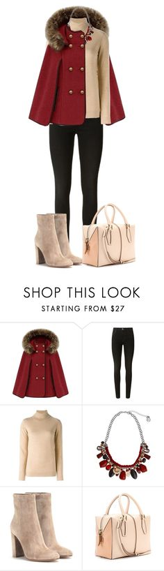 """""""Untitled #585"""" by dida-zalesakova ❤ liked on Polyvore featuring J Brand, Dagmar, Erica Lyons, Gianvito Rossi and Tod's"""
