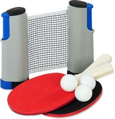 For compact fun on your next picnic or camping trip, bring the Picnic Ping Pong Set from Outside Inside. It's ideal for 2 players ages 5 and up. Gift this to your friends for everyone to play outdoors!
