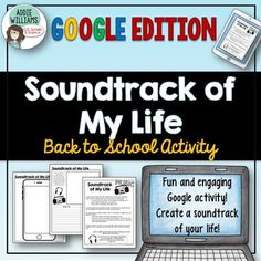 "Back to School is such a busy time of the year so why not get your students started by writing about the music that best represents them and their unique lives!  Using Google Slides or MS OneDrive, this activity can either be used as ""Soundtrack of My Life"" or ""Soundtrack of My Summer"" - the full online activity includes options for both."