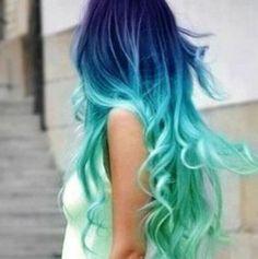 Sempre disse que se um dia eu tivesse coragem, pintaria meu cabelo nesses tons...