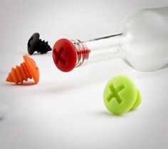 Silicone Bottle Screws – $9