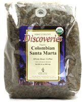 First Colony Organic Whole Bean Coffee Colombian Santa Marta