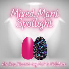 Nail Color Combos, Nail Colors, Get Nails, Hair And Nails, Nail Polish Strips, Strip Nails, Pink Parties, Nail Tips, Nail Ideas