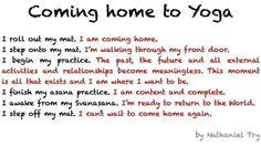 Yoga withdrawals!