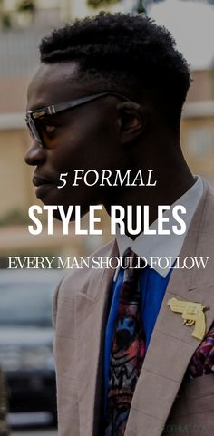 Don't get me wrong, I wholeheartedly believe in the praise, 'Rules are meant to be broken' But that being said, there are somethings that should never, and when I say never, I mean never should be broken. I just can't bear… #mensfashiontips #menstyletips