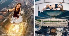 One glance at this girl's photos will make you dizzy