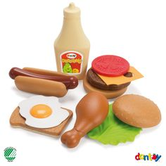 AndreuToys - Playfood Set - In Net