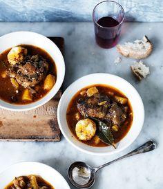 Oxtail and dumpling soup recipe :: Gourmet Traveller