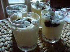 Crema di mascarpone, cioccolato e meringa
