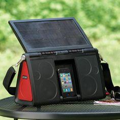 The Eton Soulra XL Solar Powered Speaker Dock - Eluxe Magazine