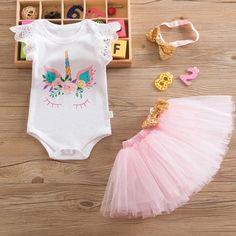 Baby Girl 1st Birthday Princess Tutu Dress - as picture19 / 12M