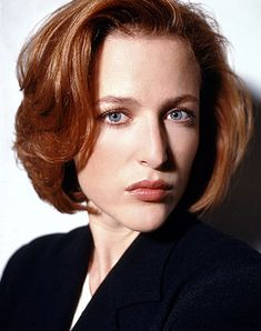 Gillian Anderson who I (sob) discovered several years after X-Files was NOT a genuine redhead! Yes folks. She is a natural blonde.