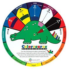 Color Wheel Colorsaurus Children Color Wheel 914 in >>> Want additional info? Click on the image.