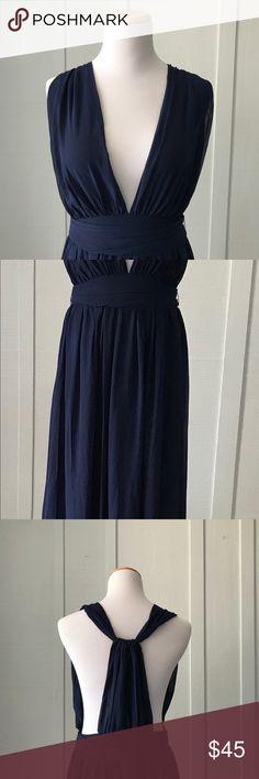 2369819ff5c Shein Blue Maxi Medium Formal Dress Sheer top