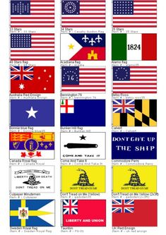 early flags of the united states - Google Search