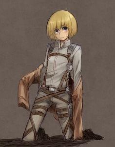 Armin Arlert - Shingeki no Kyojin / Attack on Titan,Anime Anime Manga, Anime Guys, Anime Art, Eren X Armin, Mikasa, Mermaid Boy, Fanart, Attack On Titan Art, Anime Characters
