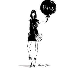 megan hess - Friday