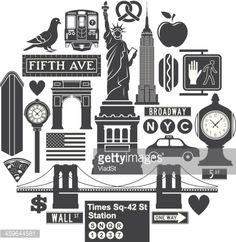 New York City icons.                                                       …