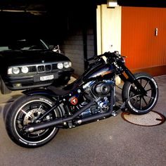 Harley Davidson Breakout Custom #harleydavidsonsoftailbreakout