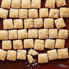 Rum-Praline Shortbread Bites