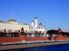 The Kremlin - where the Politburo held office.